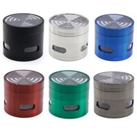 Wholesale windows signal online - Four layers of multicolor signal new tooth zinc alloy diameter MM four side window open transparent cover grinding smoke