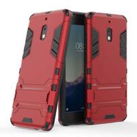 teléfono móvil x5 al por mayor-Para Nokia 7.1 X7 2.1 X5 5 Plus Funda Cubierta de teléfono móvil Funda Slim Armor Hybrid Combo Cubierta de Lujo 2 en 1 Hombre de hierro antichoque