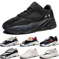 ingrosso sconto di avvio-Sconti Kanye West Wave Runner 700 Stivali Grigio Scarpe da corsa per uomo 700s donna uomo Sport Sneakers scarpe da ginnastica outdoor designer Scarpe causali