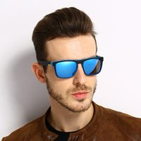 Wholesale European Sunglasses - Fashion European Block Motion Polarized Light Male pc material Man Coating Film Sun Glasses Woman Designer Sunglasses