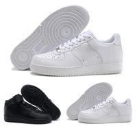 eva chaussures coupe haute achat en gros de-sneakers CORK Pour Hommes Femmes nike Air Force 1 Haute Qualité One 1 Chaussures De Course Faible Cut All Blanc Noir Couleur Casual Sneakers Taille US 5.5-12