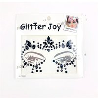 Wholesale diy costume online - Fashion DIY Decoration Resin Drill Stickers For Party Masquerade Non Toxic Popular Crystal Face Tattoo Sticker Bling Style Parts yy Z
