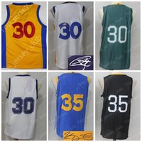Wholesale Usa Signs - 2018 New GSW Basketball The Town City Bay Jersey Men Women Youth ,Signed Retro Children,30 SC 35 KD USA Team Black