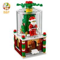 lepin blocks Australia - Legoing 40223 241pcs City series The Christmas gift Glass Ball set Building Block Toy For Children Gift Lepin 36004