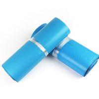 mavi poli çanta toptan satış-BÜYÜK SATıŞ !!! 28 * 42 CM mavi mailler kendinden yapışkanlı nakliye çantaları Ekspres Kurye çantaları sonrası zarf torbalar poli postalar