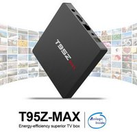 Wholesale 3gb ram tv box resale online - T95Z Max Android TV BOX GB GB RAM GB GB ROM Amlogic S912 Octa Core g g Wifi M LAN Bluetooth Smart Media Player