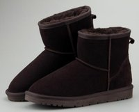 ingrosso vendita di stivali di marca-2018 VENDITA CALDA Nuove scarpe da neve da donna in pelle di vacchetta color avana inverno caldo Stivali e stivaletti marca Ivg 12 colore outdoor Boot