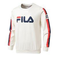 erkekler için mürettebatlı sweatshirtler toptan satış-Erkekler Uzun Kollu Kazak Mürettebat Boyun Sonbahar Ve Kış erkek Tişörtü Rahat Siyah Beyaz Kırmızı erkek Tişörtü