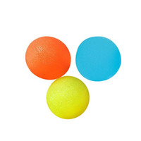 оранжевые шарики усилия оптовых-3шт/УП круглые мягкие шары стресса устойчивый к разрывам нетоксичны стресс шары (желтый, синий и оранжевый)