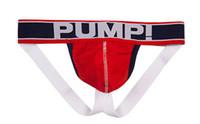 Wholesale men penis pumping - New Men PUMP Cotton Sexy Underwear Gay Penis Pouch Mens Brief Underwear Man Sleepwear S