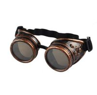 óculos de soldagem vintage venda por atacado-Estilo Vintage Steampunk Óculos de Solda Do Punk Óculos Góticos Cosplay 2018 Nova Marca Designer de Moda Verão Ao Ar Livre Eyewear