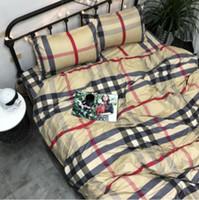 3d bedding set toptan satış-Toptan-Ev tekstili yatak takımları yorgan kapak sayfası yastık Levhalar Lüks orijinal klasik Seksi yumuşak Leopar zebra ekose baskı Seti