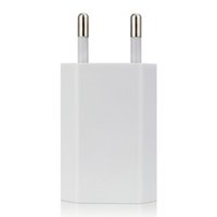 Wholesale travel plug adapters online - Phone Charger USB Travel Moblie Phone EU Plug V A Wall Power Adapter for iPhone X for Sumsung S9