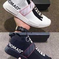 Wholesale Zip Socks - New nmd city sock Mens Running Shoes luxury fashion designer white urban nomad CS Primeknit Runner Outdoor designer sports Shoes size36-45