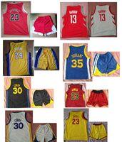 Wholesale active ports - Kids Boys Girls Student Basketball Jerseys Clothes Vest Shorts s ports Suit, Breathable sportswear suit,kicks basketbal jersey shirt