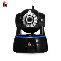 microphones ir achat en gros de-H Full HD 1080 P P2P IP Caméra Sans Fil PTZ Audio bidirectionnel H.264 2MP Objectif IR Cut Security Caméra Avec Microphone Wifi Support