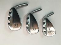 geschmiedete golfkeile großhandel-MiURA 1957 Forged Wedge MiURA Golf Forged Wedges Hochwertige Golfschläger mit 52/56/60 Grad Stahlschaft und Kopfbedeckung