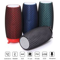 Wholesale china speakers for mp3 player resale online - Portable Wireless Bluetooth Speaker TF Card Holder USB Stereo Music For Smartphone Tablet with Retail Box