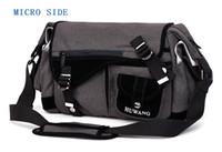 Wholesale camera bag pads resale online - Huwang Photo Camera DSLR Video Canvas Shoulder Waterproof Bag Travel Tripod Soft Padded Case Carrying Bags for Canon Nikon SLR