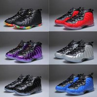 Wholesale Cream Girl Shoes - Youth Pro Metallic Gold Dr Doom Royal Kids Basketball Shoes Girl Boy Penny Hardaway Basket Ball Trainerr Shoes Sport 11C-3Y