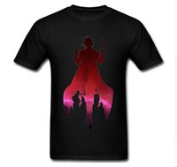 Wholesale summer man cool t shirt for sale - Group buy 2018 The Undefeated T Shirt Colors Men Summer Large Size Printed T Shirt Cool Double Shooter Anime Printed Clothing S XL