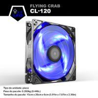 Wholesale Fan Flow - ALSEYE Computer Cooling Fan, LED 120mm Case Fan, High Air Flow Fan Cooling, 4 LEDs DC 12v 3pin 96CFM 1800RPM