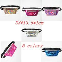 Wholesale art sparkle - Waist bag Jelly color Clear chest pack sparkle festival Beach bag Women's Waistband 10 inch Waist bag BBA87