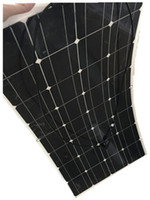 Wholesale Flexible Solar Panels For Boats - 100w efficient solar panels, flexible solar panels