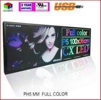 indoor-scrolling-zeichen großhandel-Innen-LED Mitteilungs-Zeichen RGB farbenreiches P5, das das Blättern von WIFI-Anzeigetafel frei Schiff für Schaufenster bewegt.