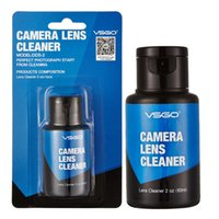 kamera handy schwarz rot großhandel-Hocheffiziente VSGO 60 ML Professionellen Linsenreiniger Für DSLR SLR Kamera Handy Optische Linse UV Reinigung.