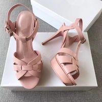 orange gladiatoren fersen großhandel-Neue benutzerdefinierte Promi-Schuhe Tribut Patente Leder Gladiator Sandalen sexy Plattform Sandaletten Frau Sandalias Mujer