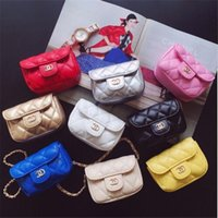 Wholesale baby gifts for girls online - 2018 Newes Kids Handbags Lovely Designer Kids Mini Purse Shoulder Bags Teenager Girls Candy Messenger Bag Cute Christmas Gifts For Baby Kids