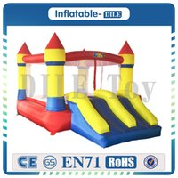 Wholesale inflatable bounce balls for sale - Group buy Home Use Inflatable Bouncer Kids Bouncy Castle Bounce House For Party Events Special Gift Ocean Balls