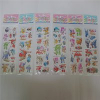 Wholesale Cartoon Temporary Tattoos - whoelsale 20pcs Super Wings Plane Robot Flash Temporary Tattoo Sticker Kids Cartoon SuperWings Deformation 3D Airplane stickers