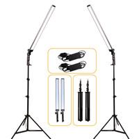 trípode de disparo al por mayor-GSKAIWEN Lámpara de iluminación LED con video para estudio fotográfico con luz profesional y soporte para trípode para tomas de cámara
