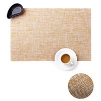 Wholesale slip resistant table cloth - Hot Nordic Style Placemat Pvc Dining Table Mat Disc Pads Bowl Pad Coasters Waterproof Table Cloth Pad Slip-resistant