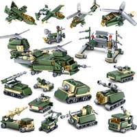 kraft spielzeug großhandel-16 teile / los Nano Blöcke Nette Bausteine 3D DIY Feld Kraft Anime Modell Lernspielzeug für Kinder Geschenke CF-004