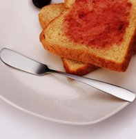 ingrosso marmellata di spalmatore-Nuovo utensile da cucina in acciaio inox Coltello da burro posate da dessert Formaggio per marmellata Dessert Utensili da cucina Coltelli da tavola