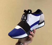 Wholesale Dress Shoes Running - BALFNCIAGA Designer Luxury Brand Man Casual Shoes Mens Womens Fashion New Style Mesh Upper Womens Dress Shoe Streetwear Running Sports