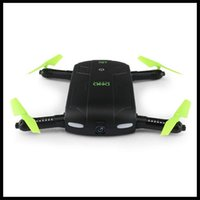 Wholesale DHD D5 Selfie Drone With Wifi FPV HD Camera Foldable Pocket RC Drones Phone Control Helicopter VS JJRC H37 Mini Quadcopter Toys