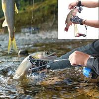 nueva caza de tirachinas al por mayor-Fishing Slingshot Shooting Catapult + Pesca Pescado Dardos Ballesta Perno Alta velocidad para pesca y caza Nuevo
