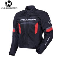 chaqueta de la raza del verano al por mayor-ROCK BIKER Chaqueta Motocicleta Respirable Verano Motocross Motocross Chaqueta Motocicleta Protectora Racing 02
