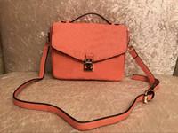 Wholesale leather sport handbags for man resale online - 2018NEW Hot Sale Fashion Vintage Handbags Women bags Designer Handbags Wallets for Women Leather Chain Bag Crossbody and Shoulder Bags