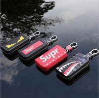 Wholesale bag holder for keys resale online - Luxury Fashion Leather Car Key Wallets for Men Vintage Cars Key Holder Women s Keychains Bag Case Housekeeper Auto Key Cover
