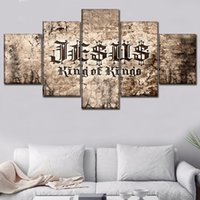 Wholesale Canvas HD Prints Pictures Home Decor Living Room Piece Christian Scripture Paintings Wall Art Poster Decorative Framework