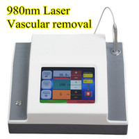 Wholesale laser blood therapy - CE approved 980nm medical diode laser for permanent blood vessels removal spider vein therapy salon use