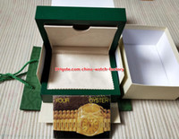 Wholesale original leather handbags - Free Shipping High Quality Green Watch Original Box Papers Handbag Card Boxes 0.8KG For 116610 116660 116710 116500 3135 3255 4130 Watches