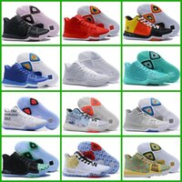 Wholesale Clear Marbles - 2018 New Style Kyrie Irving 3 Mom Black Ice White Chrome Marble Mens Basketball Shoes Top quality Kyrie 3 Sport Sneakers US 7-12