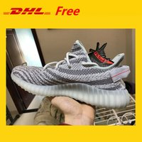 Wholesale cheap dhl shoes - DHL FREE Cheap Mens Womens Running Shoes Boots 350 V2 SPLY-350 STEGRY BELUGA SOLRED Primenkit Sneakers Boots Athletic Shoe Sport with box