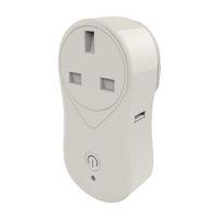 Wholesale remote controlled outlet switch resale online - Smart Plug Mini Wifi Socket US UK EU Plug Outlet Remote Control Power Strip Timing Switch Works with Amazon Alexa Echo